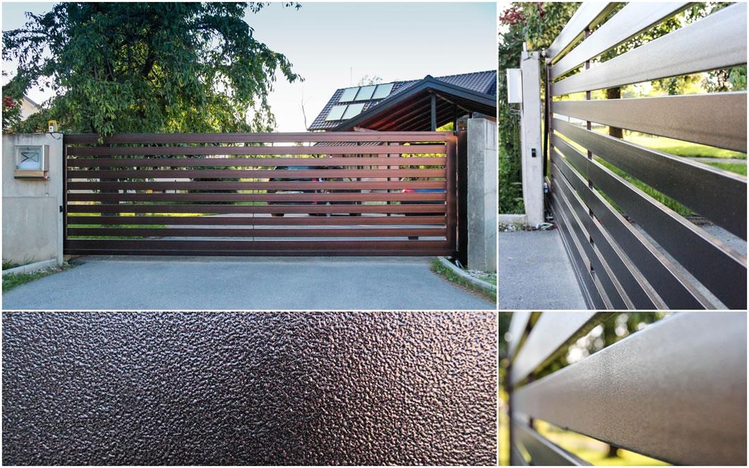 Ulaz u dvorište - medved metali ograde